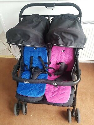 Joie Aire Twin Double Pushchair Pram