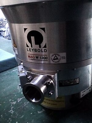 Leybold Mag W 1300 C 400110v0021 Turbo Pump Working