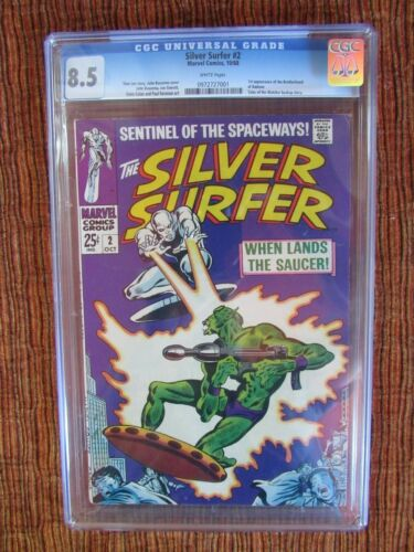 Silver Surfer Lot of 9 CGC #2 3 9 12 14 15 16 17 18
