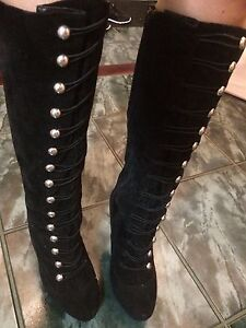 size 7 boots (GUESS and Ralph Lauren ) Kitchener / Waterloo Kitchener Area image 2