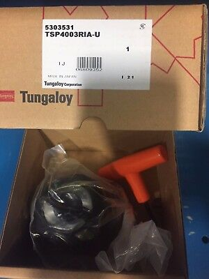 Tungaloy Tsp4003ria-u Wedge Clamped Iso Facemill Mill Cutter New