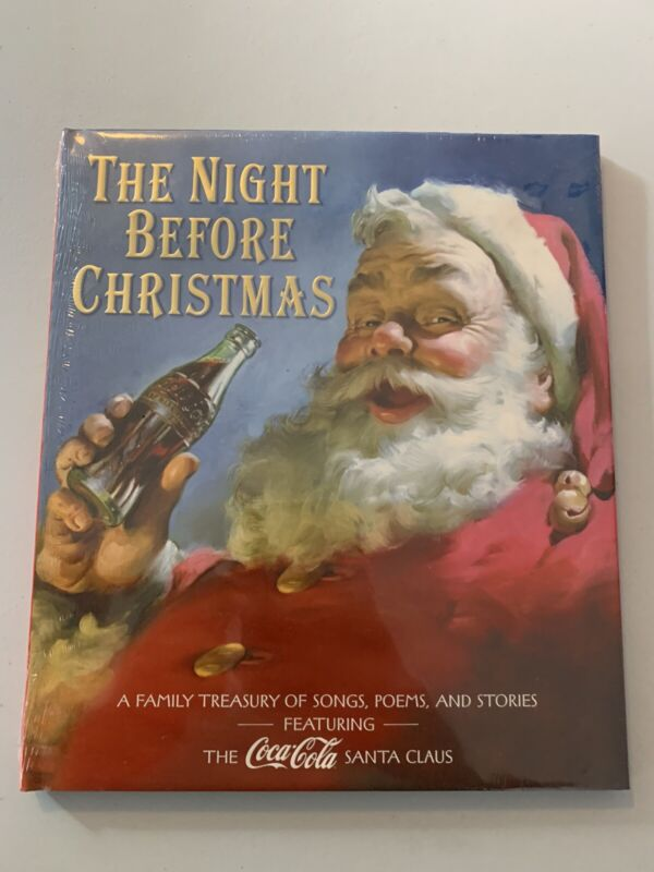 Vintage Coca-cola Book The Night Before Christmas Brand New