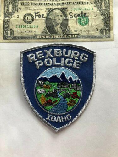 Rexburg Idaho Police Patch Un-sewn in great shape