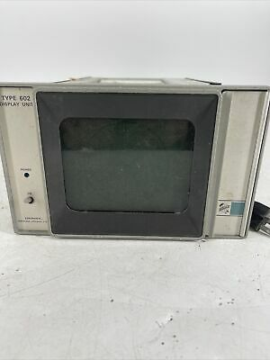 Vintage Tektronix Type 602 Display Unit Cathode-ray Tube Powers On