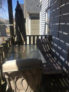 7pc Patio Set w/ Extras