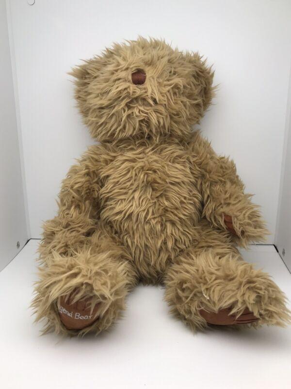 "Vintage Collegiate Traditions Teddy Bear 16"" Plush Baby Legend Bears Jr. Sitting"