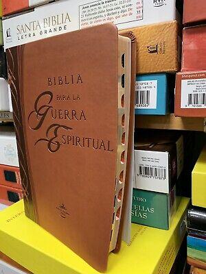 Biblia Para La Guerra Espiritual: Preparese Espiritual Indince