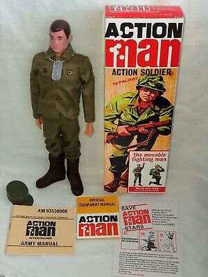 VINTAGE ACTION MAN 40TH 1st ISSUE PAINTED HAIR SOLDIER PALITOY UNUSED