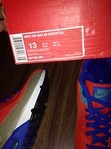 LIMITED EDITION AIR MAX 90 SIZE 13