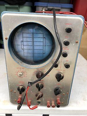 Vintage Conar Instruments Model 250 Oscilloscope Works