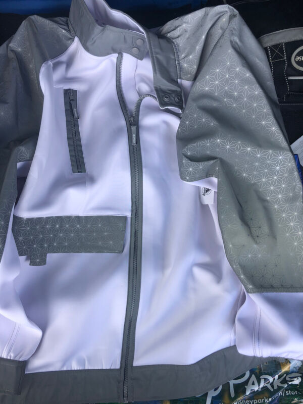 NEW 2021 Disney Parks Epcot Spaceship Earth Light Collection Jacket Coat Zip XL
