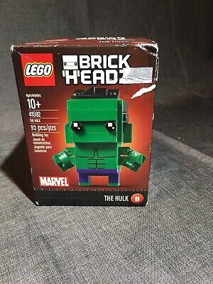 LEGO BrickHeadz The Hulk #8 set 41592 Marvel Avengers (93 pieces) Sealed