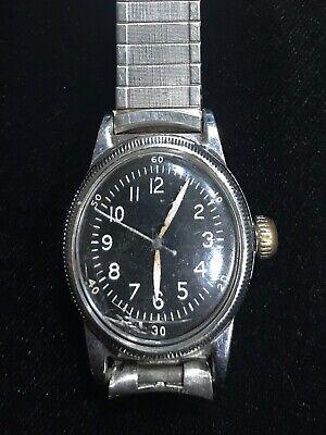 Waltham TYPE A-11 wristwatch WWII US Military