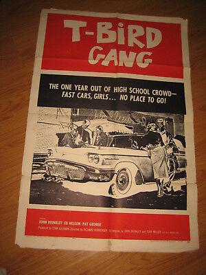 T-Bird Gang Original 1sh Movie Poster