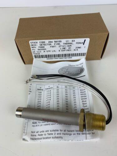 Kidde Fenwal 12-F27121-000-06 Detect-a-fire Thermal Detector 325f 125v-ac