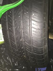 2 michelin harmony tires ( 205/60/r16) for sale