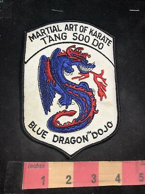 "4/"" /& 6.5/"" Isshinryu Karate Martial Arts Patch 2 Sizes"