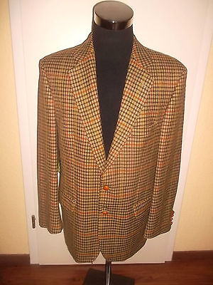 vintage MAGEE TAILORED Sylt Kampen Sakko Anzug Jacke suit jacket 1tlg. Gr.54 L