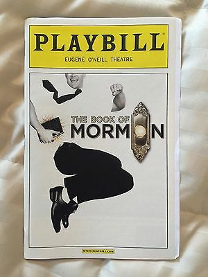 Book of Mormon Playbill starring Josh Gad and Andrew Rannells July 2011 OBC