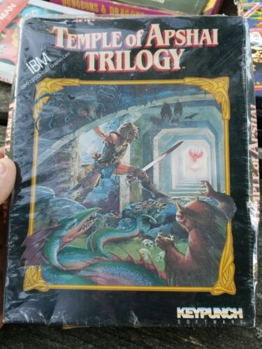 Computer Games - Temple Of Apshai Trilogy*Computer Role Playing Game*IBM Platform*RARE*
