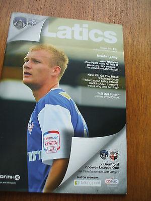 Oldham Athletic v Brentford 24-9-2011