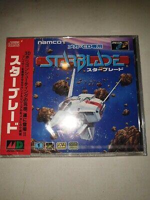 Star Blade Japan Game Sega Mega-CD New & Sealed in Jewel Case...