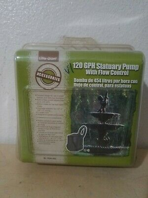 Little Giant 120 Gph Water Garden And Ciculation Pump New Sealed Psm-006
