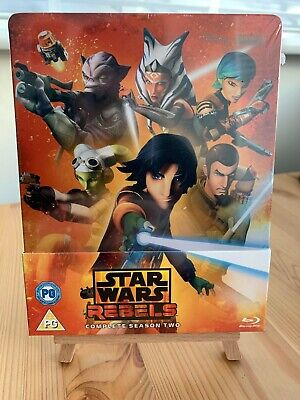 Star Wars: Rebels Season 2 - Blu-ray Steelbook Disney Zavvi - New & Sealed
