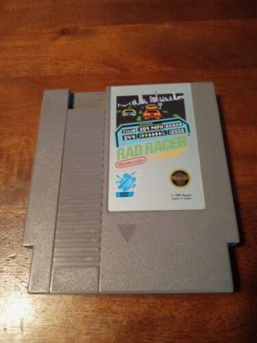 Rad Racer Nintendo Entertainment System, 1987  - $1.29