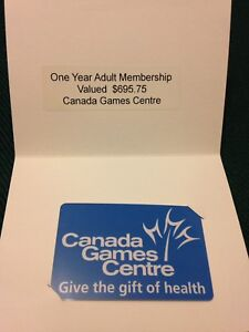 Canada Game Centre $695 value gift card.