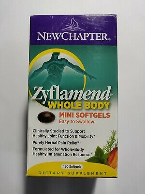 Newchapter Zyflamend Whole Body Mini Softgels 180 Softgels for sale  Shipping to South Africa