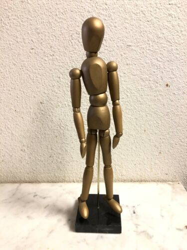 "New 12"" Wooden Artist Mannequin Moveable Joints Life Drawing Figurine"