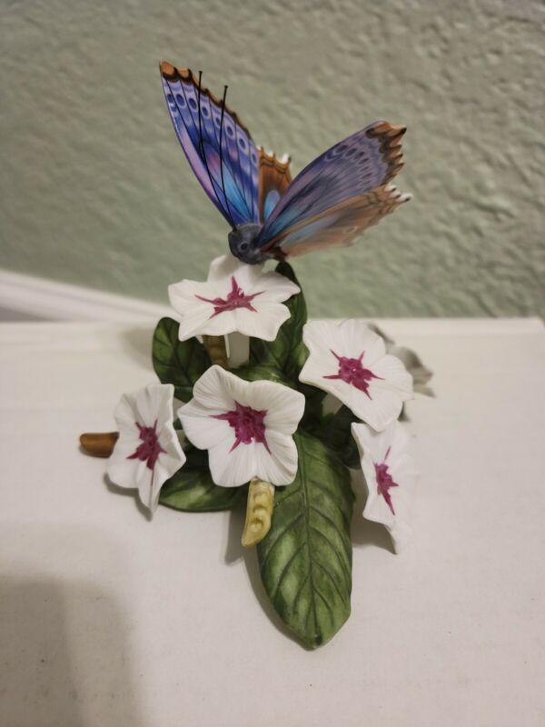 Lenox Blue Femora Butterfly Fine Porcelain