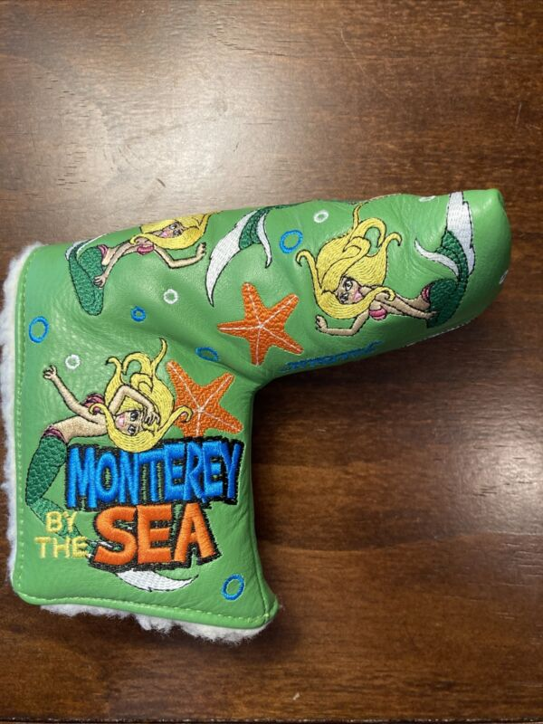 SCOTTY CAMERON HEADCOVER 2010 US OPEN  MONTEREY BY THE SEA MERMAID PUTTER COVER