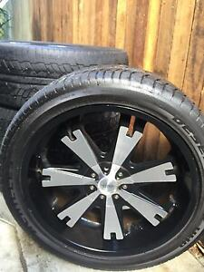 "22"" alloy rims Red Hill Brisbane North West Preview"