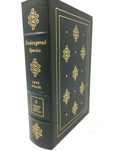 Gene Wolfe ENDANGERED SPECIES Signed  Easton Press Collector