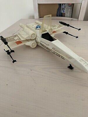 Vintage Star Wars X-Wing Fighter Jet 1980's Original