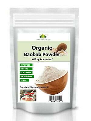 RAW Organic Baobab Powder  8oz