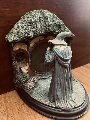 """LORD OF THE RINGS BOOKEND """"NO ADMITTANCE"""" RARE, VINTAGE."""