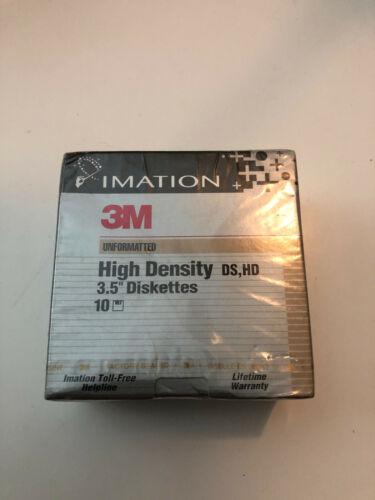IMATION 3M High Density DS,HF 3.5 Diskettes Floppy Disks