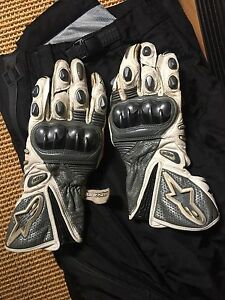 Alpine Stars Leather GPmoto motorcycle gloves