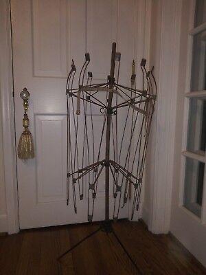Antique Victoran Hoop Skirt Form Bazar Wire Dress Maker Mannequin 1880s