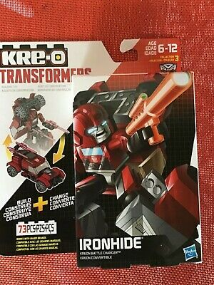 KRE-O TRANSFORMERS IRON HIDE KREON BATTLE CHANGER 73 PIECES