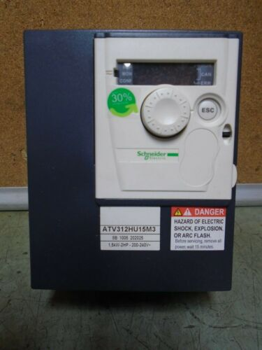 Schneider Electric ATV312HU15M3 2HP 1.5kW AC Motor Controller