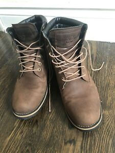 Timberlands boots size 9 brown men