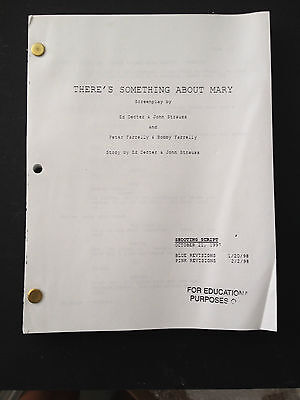 THERE'S SOMETHING ABOUT MARY Copy of Screenplay by FARRELLY BROS. DIAZ, STILLER