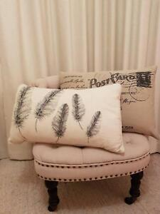 Two Gorgeous CUSHIONS in excellent condition