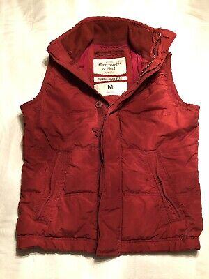 Abercrombie & Fitch Summit Rock Vest Men's size M
