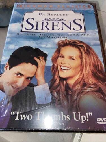 Sirens DVD, 1999 Hugh Grant, Sam Neill, Tara Fitzgerald, Elle Macpherson NEW  - $9.99