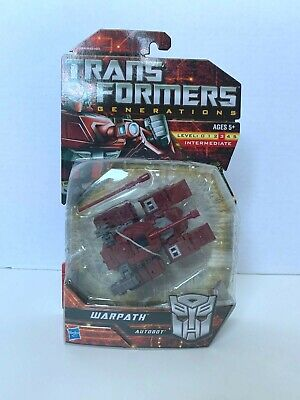 Transformers Generations Warpath MOSC